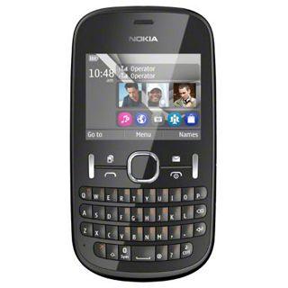 Nokia Asha 200 Dual SIM 64 MB grau