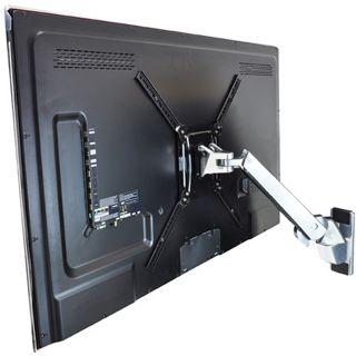 Ergotron 45-296-026 Interaktiver Arm HD Wandhalterung schwarz/silber