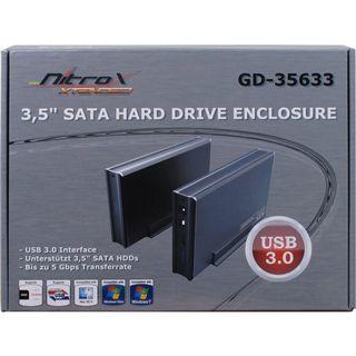 "Inter-Tech 88884051 3.5"" (8,89cm) USB 3.0 schwarz"