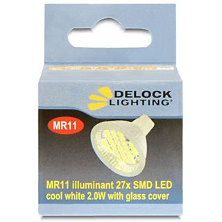 Delock Lighting 27x SMD Kaltweiß GU4 A