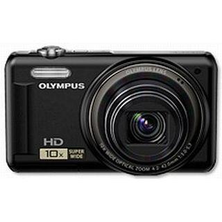 Olympus D-720 schwarz 14 MP, 10x opt.Zoom, 7,6cm LCD, HD Movie