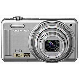 Olympus D-720 silber 14 MP, 10x opt.Zoom, 7,6cm LCD, HD Movie