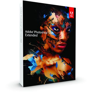 Adobe Photoshop Extended CS6 32/64 Bit Deutsch Grafik FPP PC (DVD)