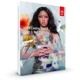 Adobe Creative Suite 6.0 Design und Web Premium 64 Bit Deutsch Grafik Vollversion PC (DVD)