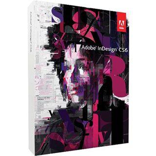 Adobe InDesign CS6, Update von CS5 64 Bit Deutsch Grafik Update PC (DVD)