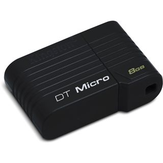 8 GB Kingston DataTraveler Micro schwarz USB 2.0