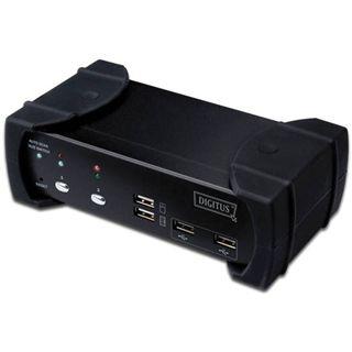 Digitus DS-12820 2-fach Desktop KVM-Switch