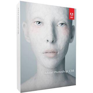Adobe Photoshop CS6 32/64 Bit Englisch Grafik FPP PC (DVD)