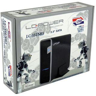 """LC-Power LC-35USB3 3,5"""" (8,9cm) USB3.0 schwarz retail"""