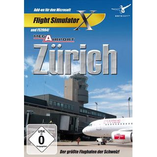 Flight Simulator X - Mega Airport Zürich 2012 (PC)