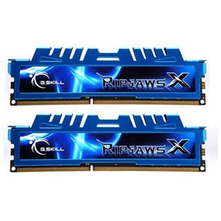 8GB G.Skill RipJawsX DDR3-1866 DIMM CL8 Dual Kit
