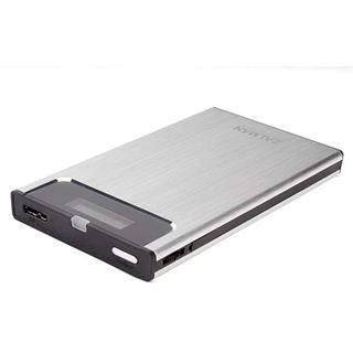 """Zalman ZM-VE300 2.5"""" (6,35cm) USB 3.0 silber"""