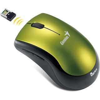 Genius Maus Ergo 7000 USB gruen (kabelgebunden)