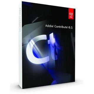 Adobe Contribute 6.5 64 Bit Deutsch Webdesign FPP Mac (DVD)
