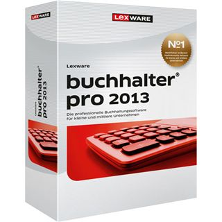 Lexware Buchhalter Pro 2013 v13.5 32/64 Bit Deutsch Office Upgrade PC (DVD)