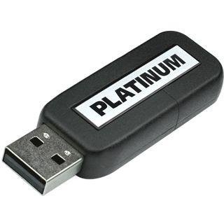 64 GB Platinum Slider schwarz USB 3.0