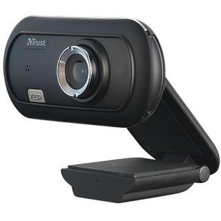 Trust Verto Weitwinkel HD Webcam schwarz