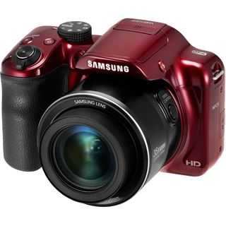 Samsung OP Digital-Fotokamera 16MP,rt WB1100F red