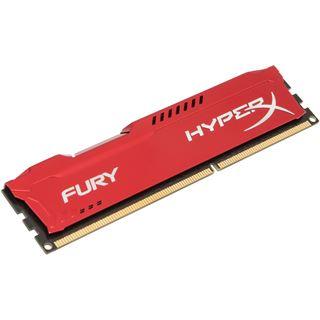 4GB HyperX FURY rot DDR3-1600 DIMM CL10 Single