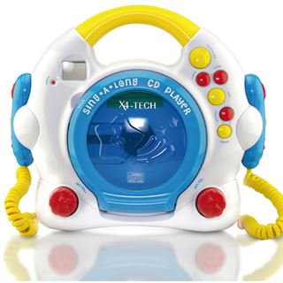 X4-Tech Bobby Joey CD Player für Kinder
