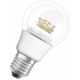 Osram LED Star Classic A 40 6W/827 CL Klar E27 A+
