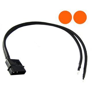 XSPC orange 5mm Twin-Wired LED für 4-Pin Molex (5060175582027)