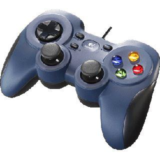 Logitech F310 USB schwarz/blau PC