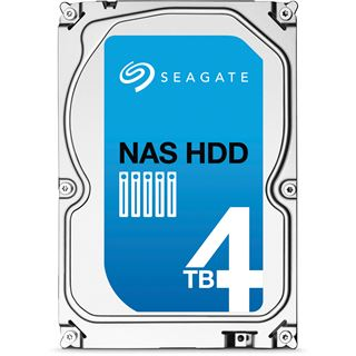"4000GB Seagate NAS HDD +Rescue ST4000VN003 64MB 3.5"" (8.9cm) SATA 6Gb/s"