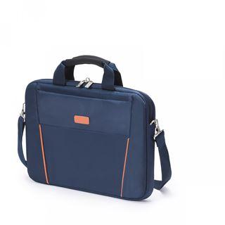 Dicota Slim Case Base 14-15.6 schwarz orange