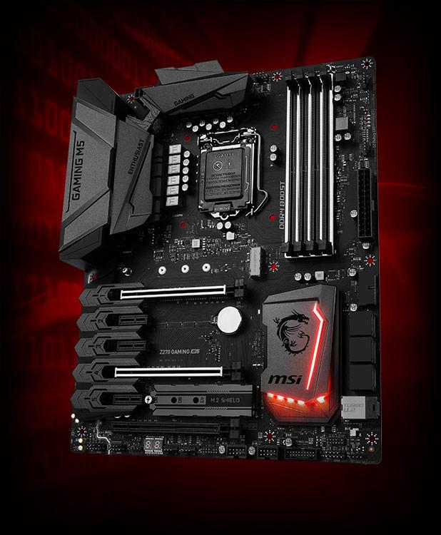 MSI Z270 Gaming M5 Intel Z270 So.1151 Dual Channel DDR ATX Retail